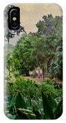 Rainy Day At Bok Garden IPhone Case