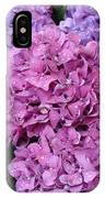 Rainy Day Flowers IPhone Case
