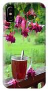 Rainy Day Tea IPhone Case