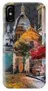 Rainy Evening In Montmartre IPhone Case