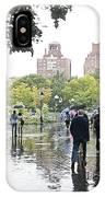 Rainy Washington Park  IPhone Case