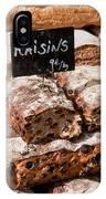 Raisin Bread IPhone Case