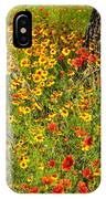 Ranch Wildflowers And Trees 2am-110522 IPhone Case
