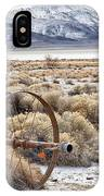 Ranching The Black Rock IPhone Case