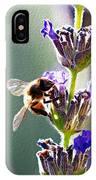Random Lavender Sampling IPhone Case