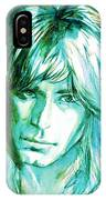 Randy Rhoads Portrait IPhone Case