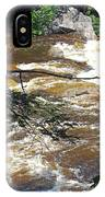 Rapids Of The Swift River Kancamagus Hwy View White Mountains Nh IPhone Case