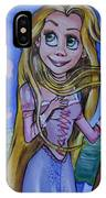 Rapunzel In A Botticelli Style IPhone Case