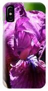 Raspberry Jam Iris IPhone Case