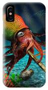 Rasta Squid IPhone Case