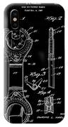 Ratchet Wrench Patent IPhone Case