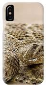 Rattlesnake 1 IPhone Case