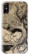 Ravenlight Tree IPhone Case