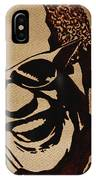 Ray Charles Original Coffee Painting IPhone Case