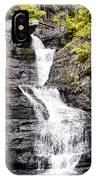Raymondskill Falls In Milford Pa IPhone Case