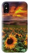 Rays Of Sunflowers IPhone Case
