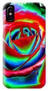 Razzle Dazzle Rose IPhone Case