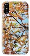 Reaching Autumn IPhone Case
