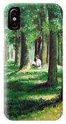 Reader In The Park IPhone Case