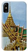 Reception Hall At Grand Palace Of Thailand In Bangkok IPhone Case