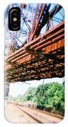 Recesky - Whitford Railroad Bridge IPhone Case