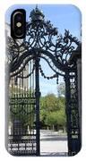 Recidence Garden Gate - Wuerzburg IPhone Case