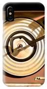 Vinyl Turner IPhone Case
