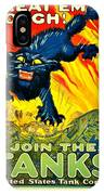 Recruiting Poster - Ww1 - Join The Tank Corps IPhone Case