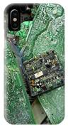 Recycling Computer Circuit Boards IPhone Case