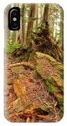 Recycling In The Cheakamus Rainforest IPhone Case