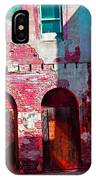 Red Abandonment IPhone Case