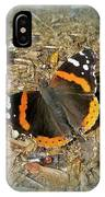 Red Admiral Butterfly - Vanessa Atalanta IPhone Case