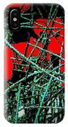 Red An Black Poppies 1 IPhone Case