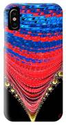 Red And Blue Shawl  IPhone Case