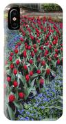 Red And Blue IPhone Case