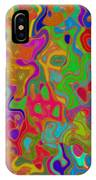 Red And Gold Abstract IPhone Case