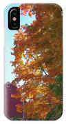 Red And Gold And Blue IPhone Case