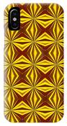 Red And Gold Christmas Abstract IPhone Case