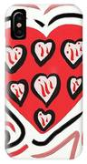 Red And Pink Hearts 2 IPhone Case