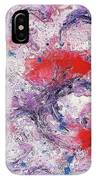 Red And Purple Passion IPhone Case
