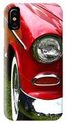 Red And White 50's Chevy IPhone Case