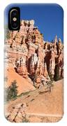 Red And White Rocks - Bryce Canyon IPhone Case