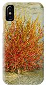 Red And Yellow Desert Color IPhone Case