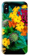 Red And Yellow Flowers IPhone Case