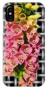 Red And Yellow Hollyhocks IPhone Case