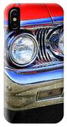 Red Antique Car IPhone Case