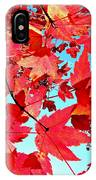 Red Autumn IPhone Case