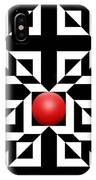 Red Ball 5 IPhone Case