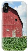 Red Barn And New Corn IPhone Case