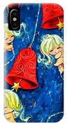 Red Bells IPhone Case